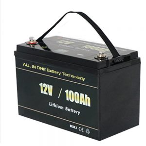 ALL IN ONE Safest Solar RV 12v 100ah LiFePO4 lithium battery pack