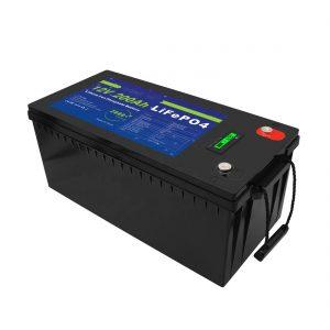 ژور سائیکل 12V / 24V / 36V / 48V 200Ah لمریز ذخیره UPS 12v LiFePO4 لیتیم ذخیره بیټرۍ د ګالف کارټ لپاره