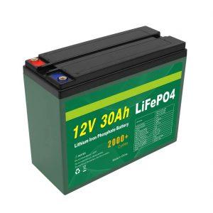د OEM بیټرۍ د ریچارج وړ 12V 30Ah 4S5P لیتیم 2000+ ژور سائیکل Lifepo4 سیل تولیدونکی