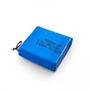 د ګمرکي چارج وړ 3.7V 450 530 550 700 750 800 900Mah لی - پو لیپو بیټرۍ