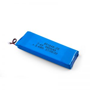 LiPO د چارج وړ بیټرۍ 651648 3.7V 460mAh / 3.7V 920mAH / 7.4V 460mAH