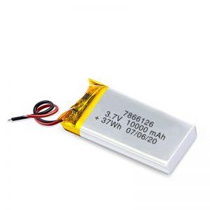 د LiPO د چارج وړ بیټرۍ 7866120 3.7V 10000mAh / 3.7V 20000mAH / 7.4V 10000mAh