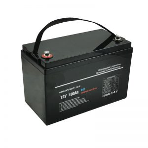 د ټیټ حرارت درجه LiFePO4 12V 100AH