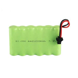 د NiMH د چارج وړ بیټرۍ AA 2400mAh 7.2V