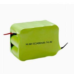 د NiMH چارج وړ بیټرۍ SC 2400mAH 14.4V